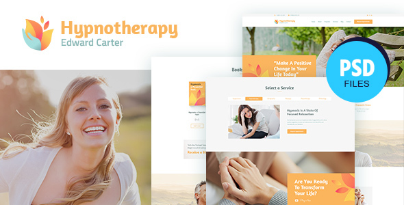 Carter | Psychologist Therapy PSD Template