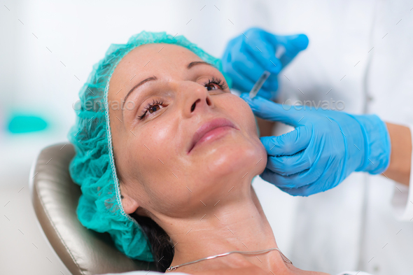 Anti-aging PRP Aesthetic Medicine Treatment - Stock Photo - Images