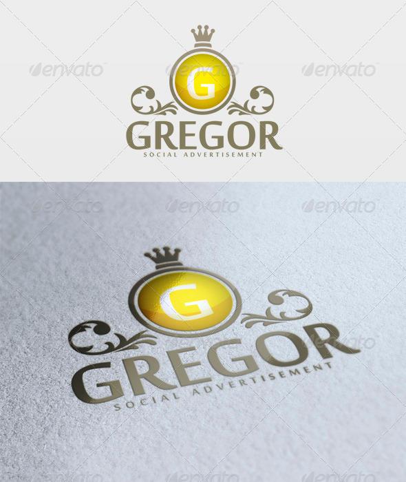 Gregor Logo - Letters Logo Templates