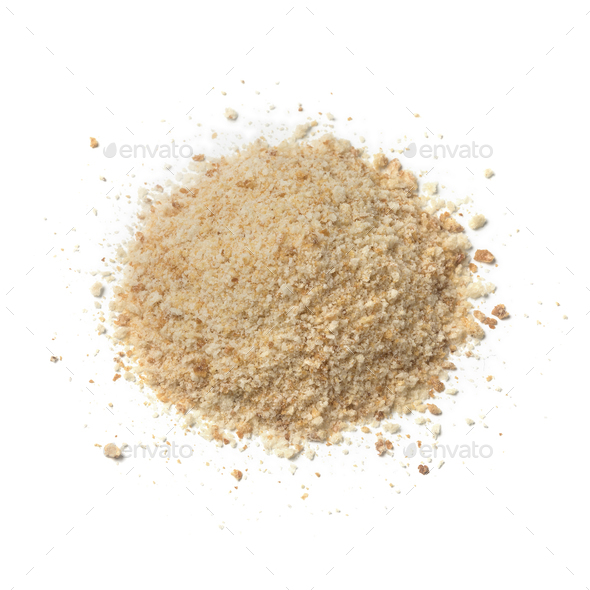 Heap of bread crumbs - Stock Photo - Images
