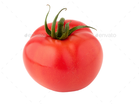 isolated image of  tomatoes - Stock Photo - Images