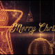 Christmas Intro With Golden Text And Magic Toys - VideoHive Item for Sale