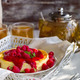 Cheesecake with raspberry sauce - PhotoDune Item for Sale