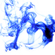 Abstract composition of blue ink - PhotoDune Item for Sale