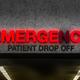 Rundown Hospital ER Drop Off Sign - PhotoDune Item for Sale