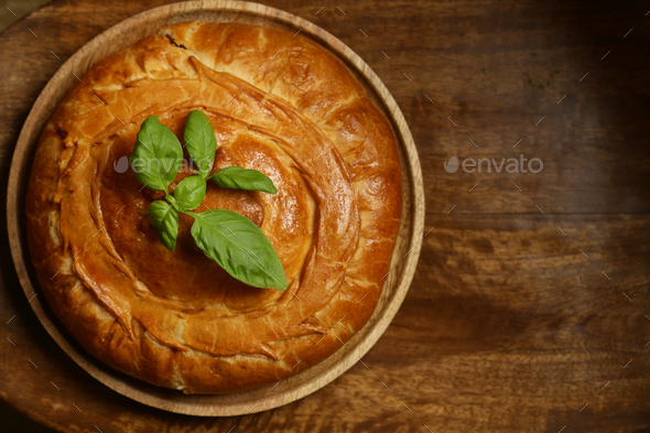 Home Baked Pie - Stock Photo - Images