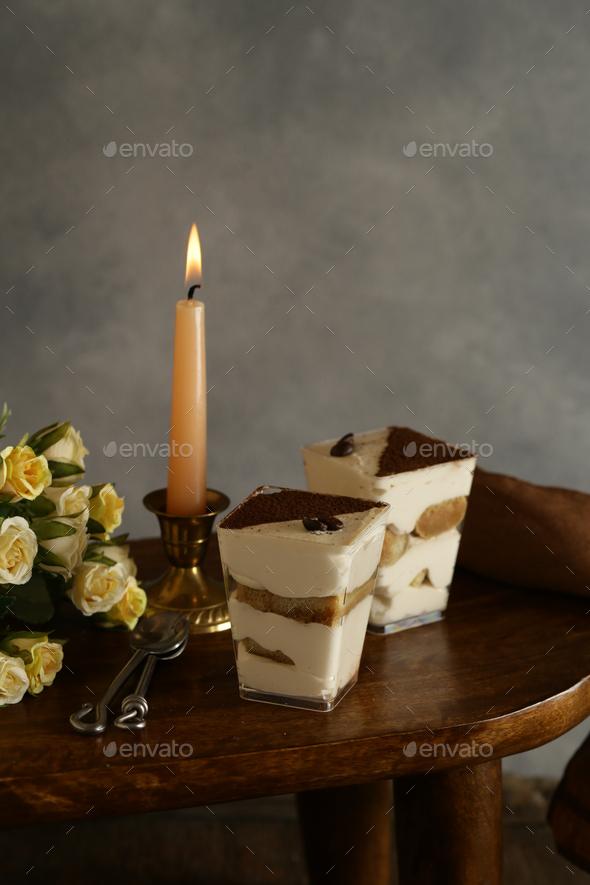 Tiramisu Italian Dessert - Stock Photo - Images