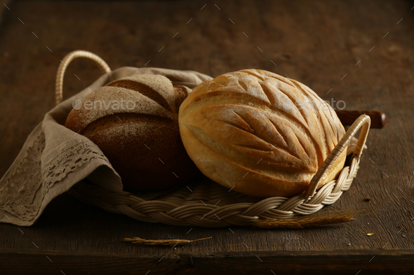 Whole Grain Rye Bread - Stock Photo - Images
