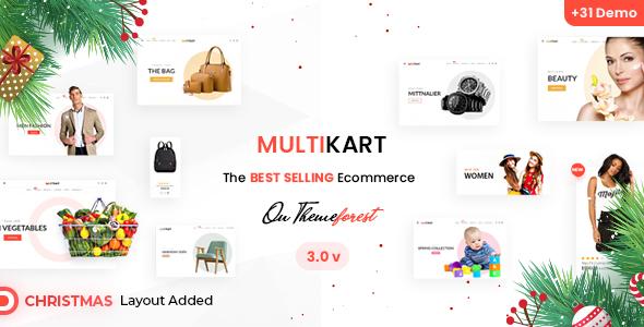 Multikart - eCommerce HTML + Admin Template