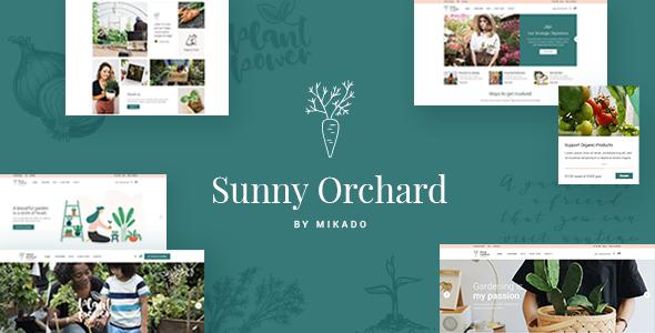 SunnyOrchard - Landscaping and Gardening Theme