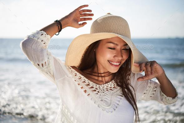 Enjoying sunny day - Stock Photo - Images