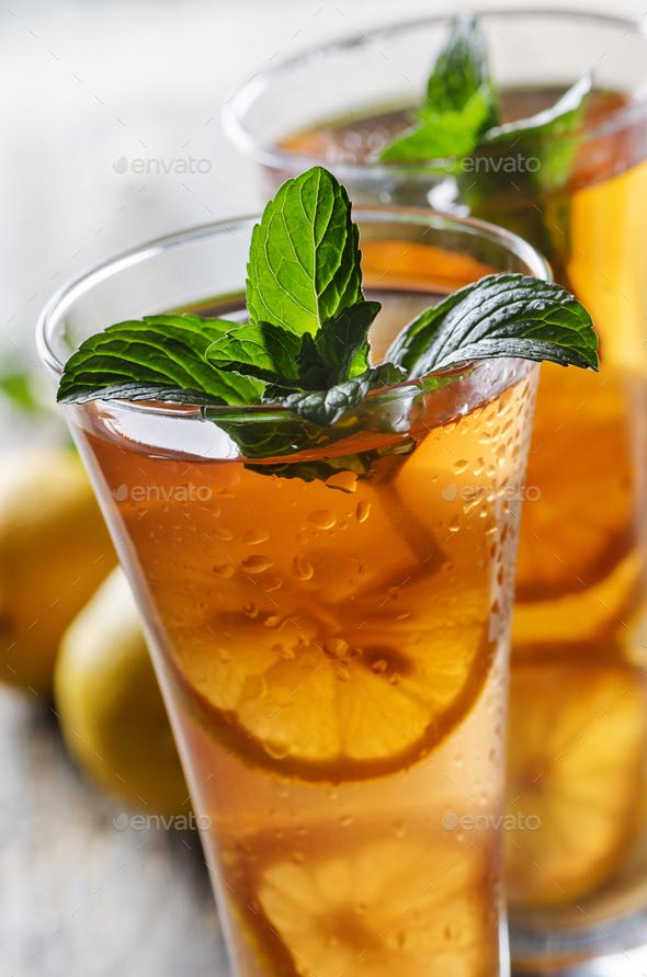 Ice tea - Stock Photo - Images