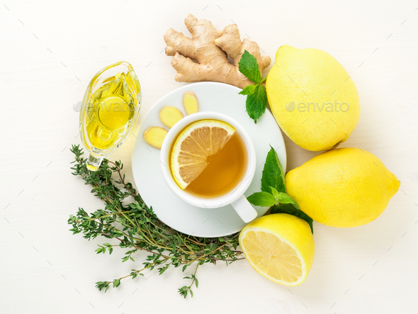 Folk ways to treat colds - Stock Photo - Images