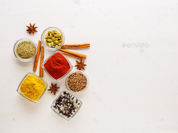 spice set-coriander - Stock Photo - Images