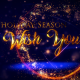 Christmas Greetings With Golden Text - VideoHive Item for Sale