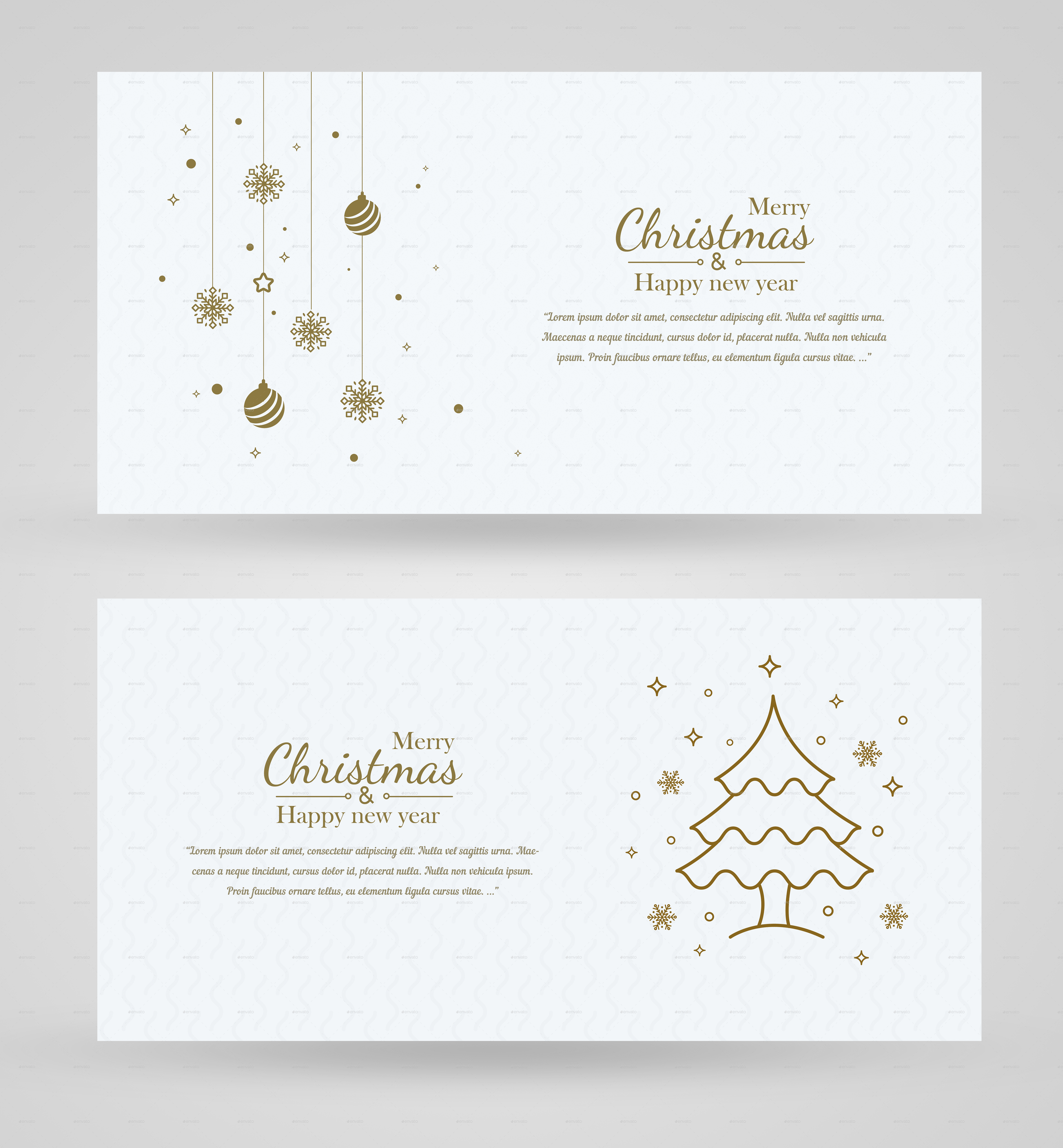 Minimal Christmas Background