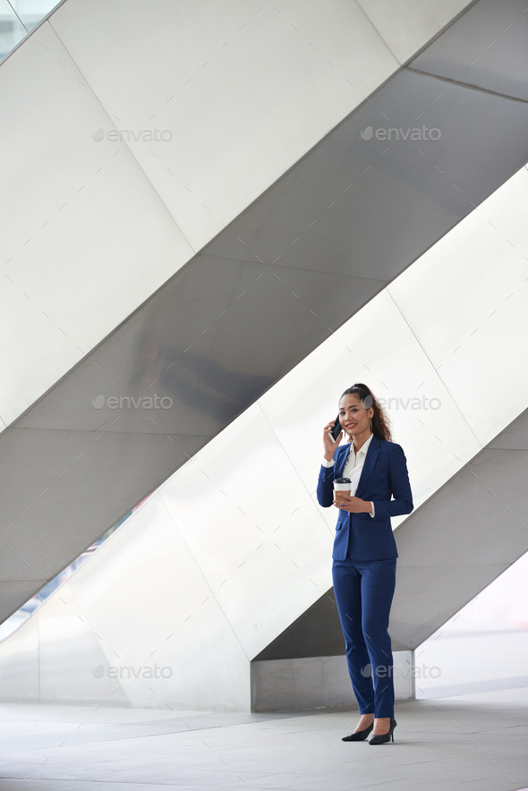 Calling on the phone - Stock Photo - Images