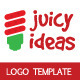 Juice Ideas Logo Template