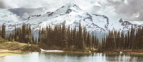 Image lake - Stock Photo - Images
