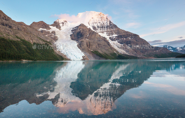 Mt Robson - Stock Photo - Images