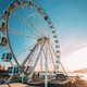 Helsinki, Finland. View Of Embankment With Ferris Wheel In Sunny Day - PhotoDune Item for Sale
