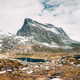 Reinheimen National Park, Norway. Lake Ovstevatnet In Mountains Landscape - PhotoDune Item for Sale