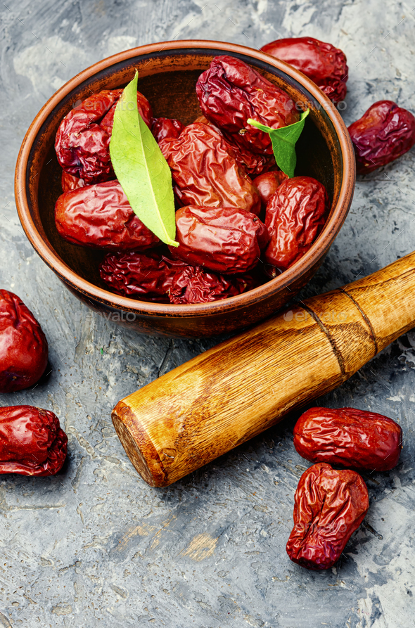 Healing tincture of jujube - Stock Photo - Images