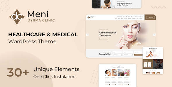 Meni - Doctor, Medical & Healthcare