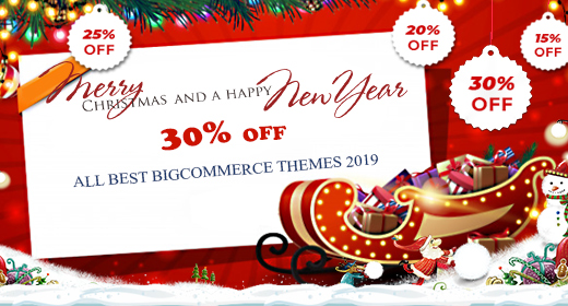 Xmas Sale 30%| All Best BigCommerce Themes 2019