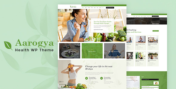 Aarogya | Dietitian, Weight Loss and Nutrition WordPress Theme