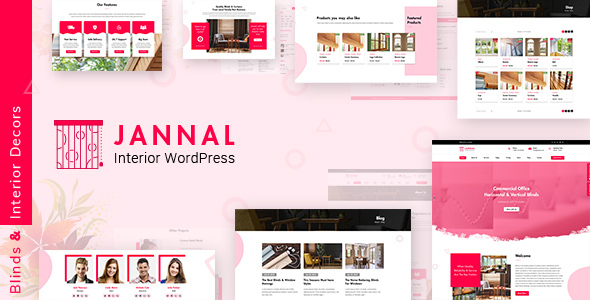 Jannal - Windows Curtains & Doors Service WordPress Theme