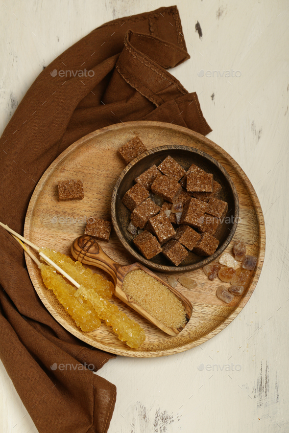 Cane Brown Sugar - Stock Photo - Images