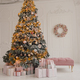 Christmas tree and sofa with gifts - PhotoDune Item for Sale