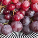 Cardinal and Red Sultana Seedless Grapes - PhotoDune Item for Sale