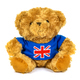 Teddy bear with UK flag on white background - PhotoDune Item for Sale