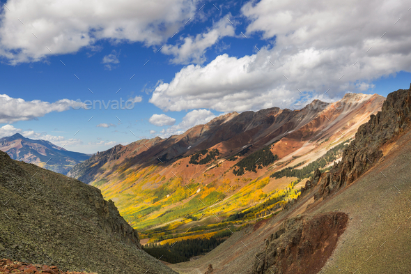 Autumn in Colorado - Stock Photo - Images