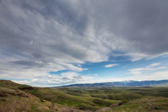 Green hills - Stock Photo - Images