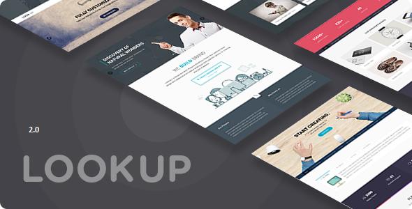 Lookup - Multi Purpose Drupal 8.8 theme