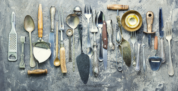 Set cooking utensils - Stock Photo - Images