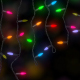 Christmas Lights Colorful Background - VideoHive Item for Sale