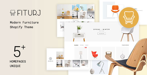 Fiturj – Modern Furniture Shopify Theme