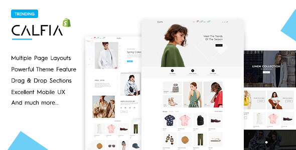 Calfia – Fashion Multipurpose Shopify Theme