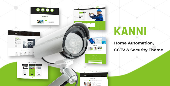 Kanni - Home Automation, CCTV Security Theme