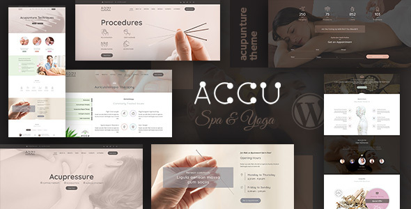 Accu - Healthcare, Massage WordPress Theme