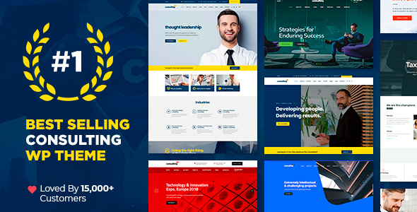 Exceptional Consulting - Business, Finance WordPress Theme