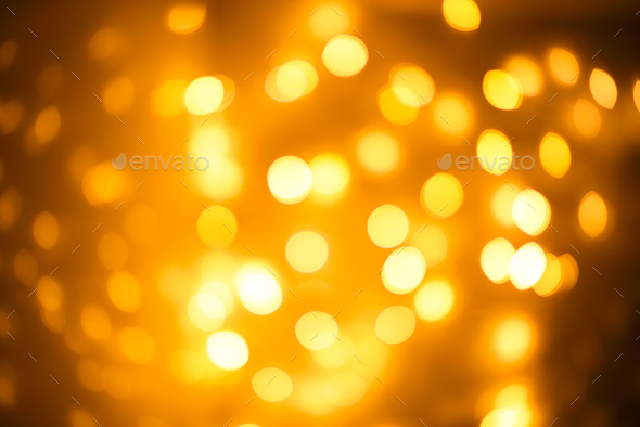Blurred abstract background lights, beautiful Christmas. - Stock Photo - Images