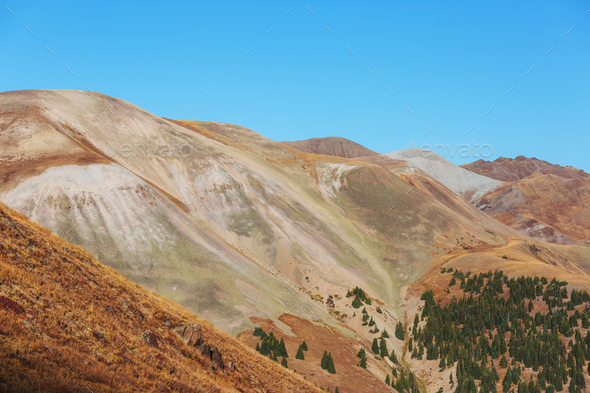 Mountains in Colorado - Stock Photo - Images