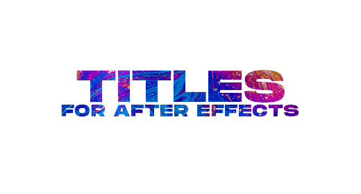 Titles for After Effects