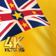 Niue Flag - 4K - VideoHive Item for Sale