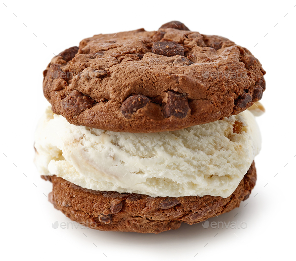 ice cream sandwich - Stock Photo - Images